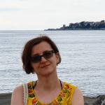 Lena Klimka na tle panoramy starożytnego Nessebaru