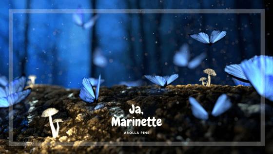 baner opowiadania pt. Ja Marinette