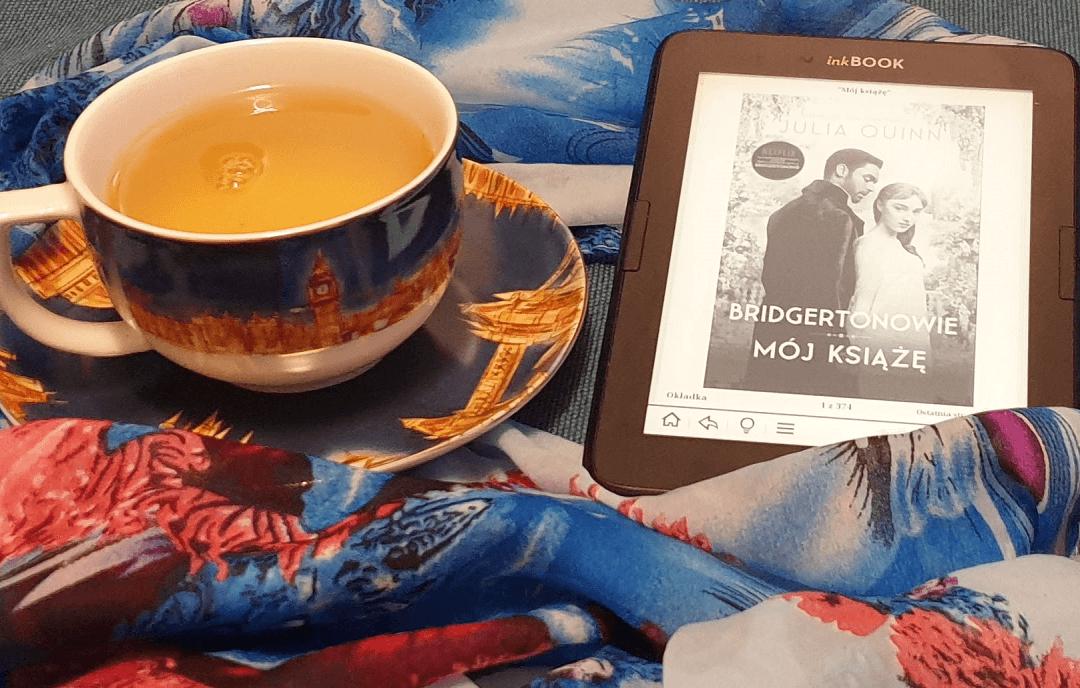 """Okładka ebooka """"Mój Książę"""" z cyklu Bridgertonowie obrazująca czytelniczy tydzień Leny Klimki"""